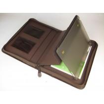 Ledermappe für iPad und Tablet PC aus 1,0 cm dickem V.Rdl 6061-3