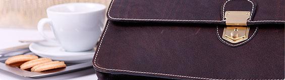 college briefcase